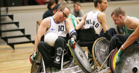 Wheelchair rugby come back for Paralympic gold medallist Toni Piispanen.